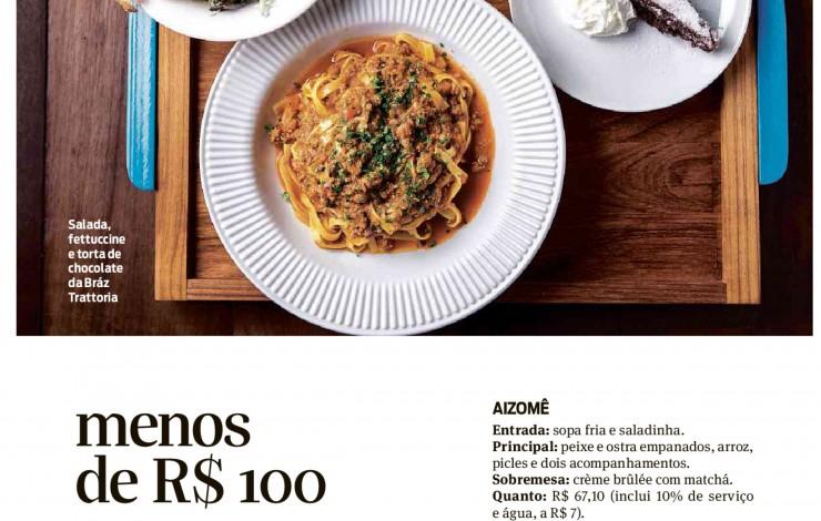 Revista São Paulo destaca almoço executivo